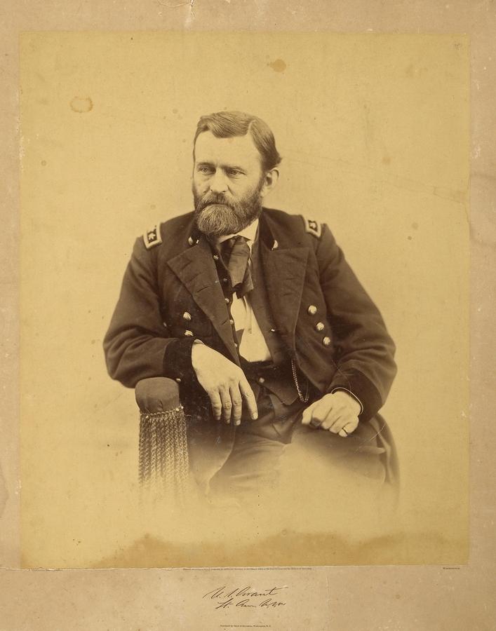 Генерал Улисс Грант. 1865. Фотограф — Александр Гарднер.jpg