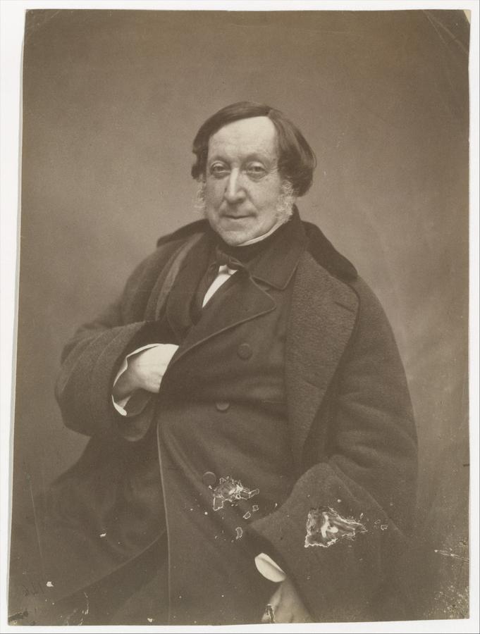 Джоаккино Антонио Россини. 1860. Фотограф — Феликс Надар.jpg