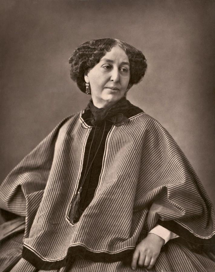 Жорж Санд. 1864. Фотограф — Феликс Надар.jpg