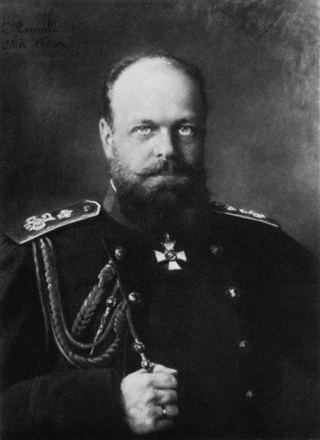 Император Александр III. Фотограф — Феликс Надар.jpg