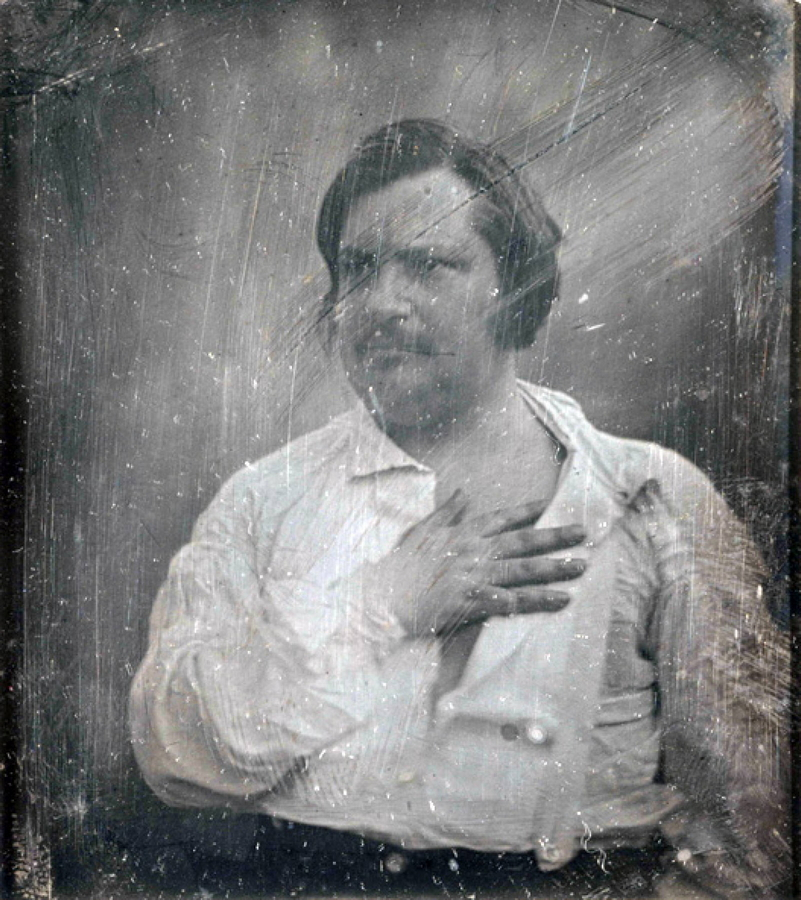 Оноре Бальзак. 1842. Фотограф — Луи-Огюст Биссон.jpg