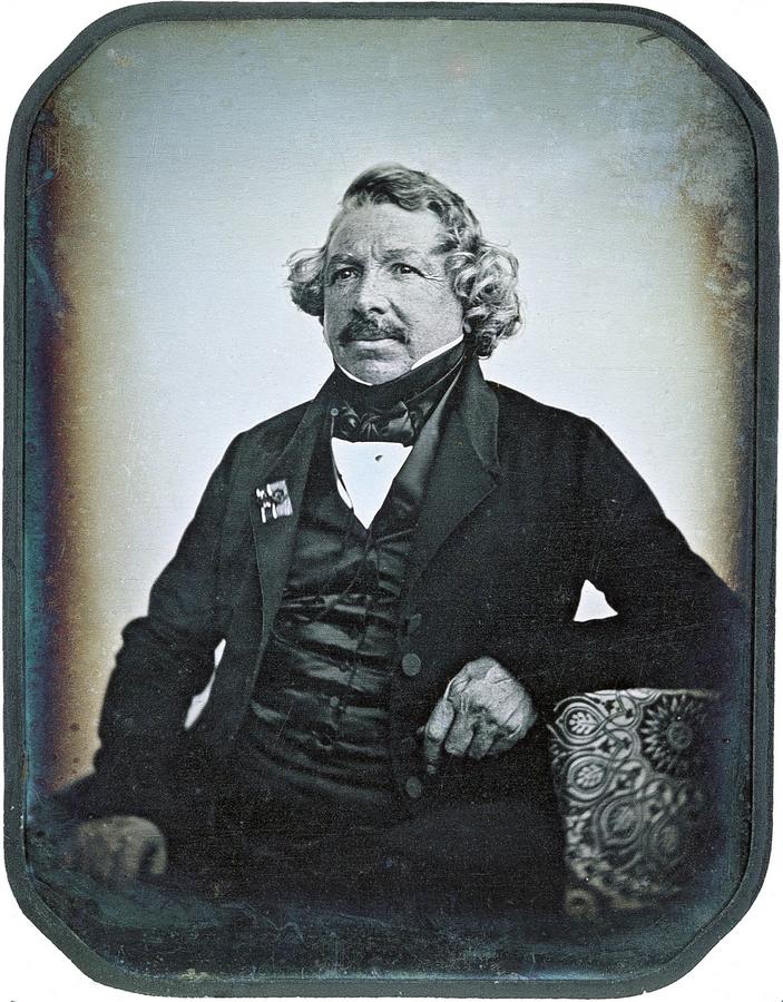 Жан-Батист Сабатье-Бло. Дагеротипный портрет Луи Дагера. 1844.jpg