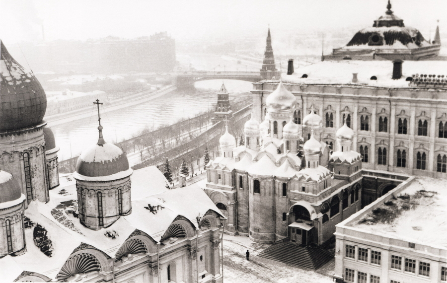 1950 Москва 75422 Зима в Кремле.jpg
