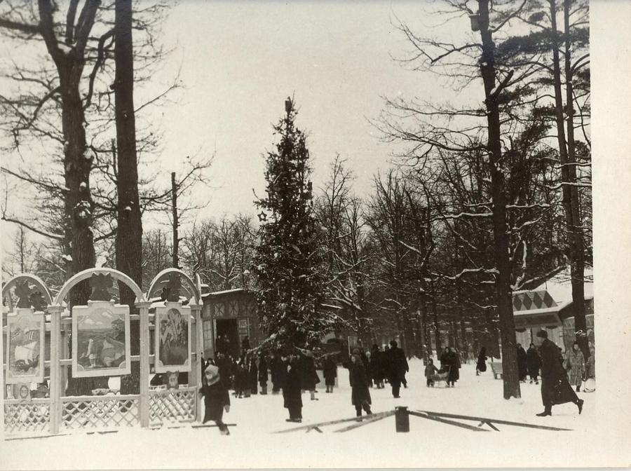 1955-1960 Москва 81418 Новогодняя елка в парке Дзержинского.jpg