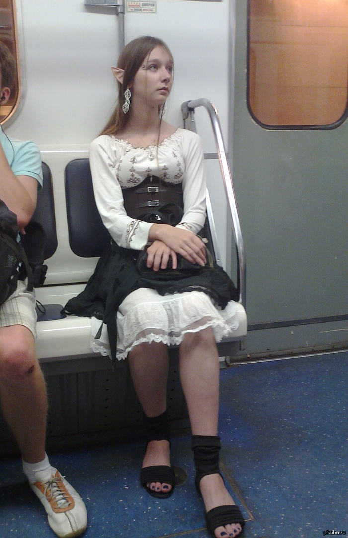 однажды в питерском метро