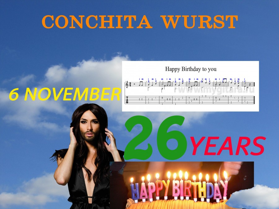 Conchita Happy Birthday 1