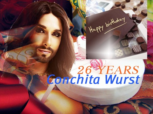 Conchita Happy Birthday 2