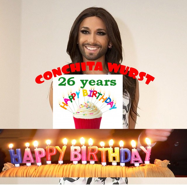 Conchita Happy Birthday 3