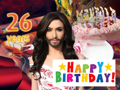 Conchita Happy Birthday 8