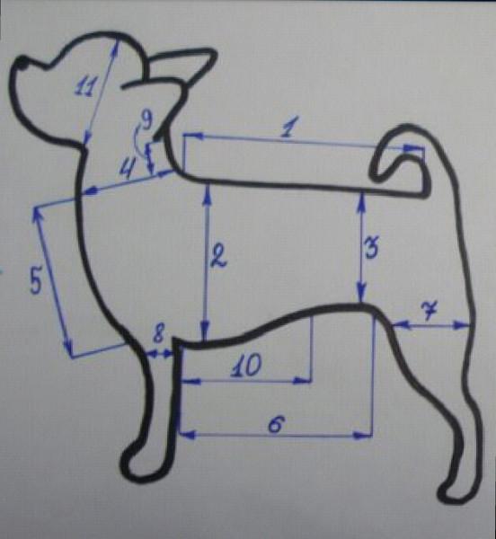 Костюмчики для собак своими руками