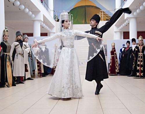 Черкесский (Адыгский) танец.