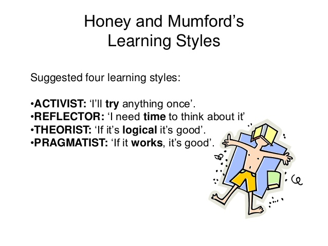 compare and contrast the four differences in learning styles