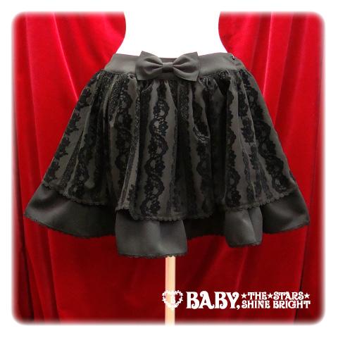 Japanese - AatP SK 6e Lace Flocky Skirt