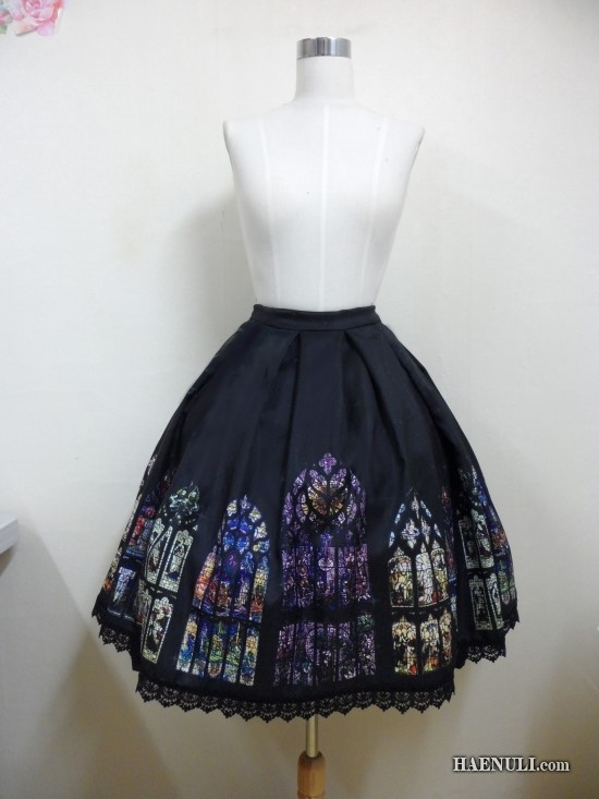 Korean - Haenuli Stained Glass of Staint Giles Skirt 1a