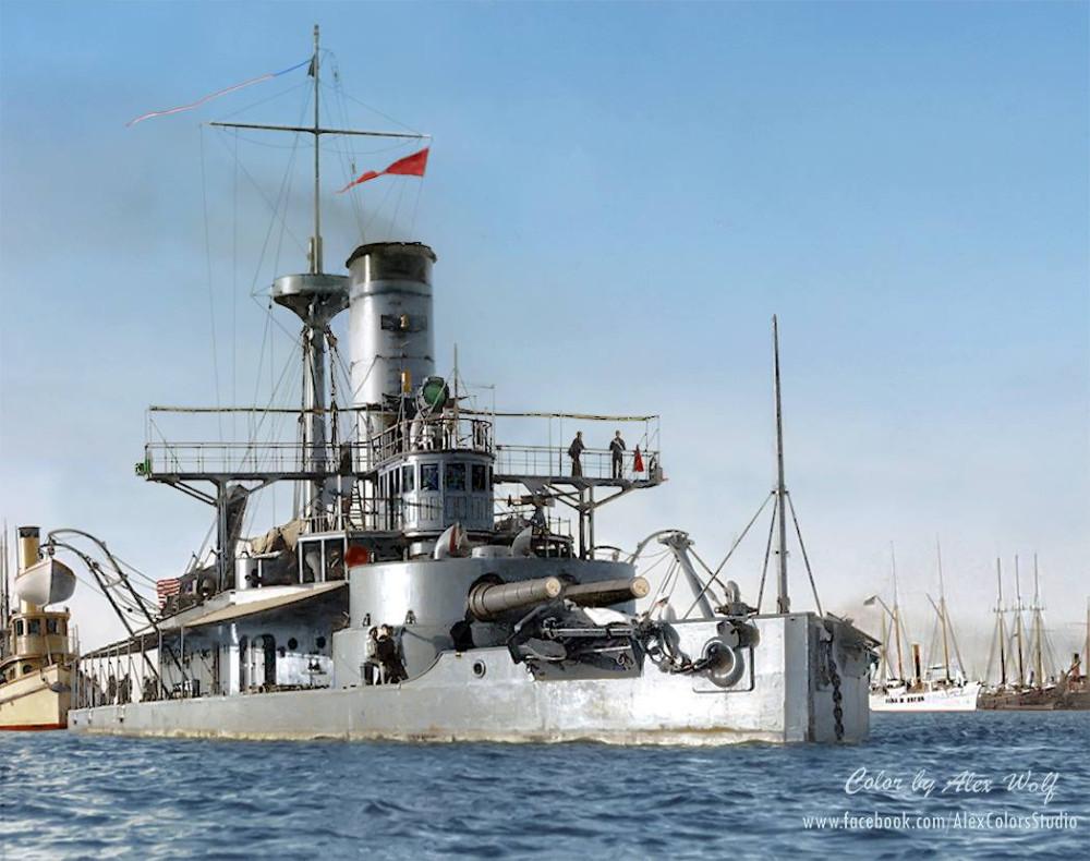 USS Puritan (BM-1), circa 1898