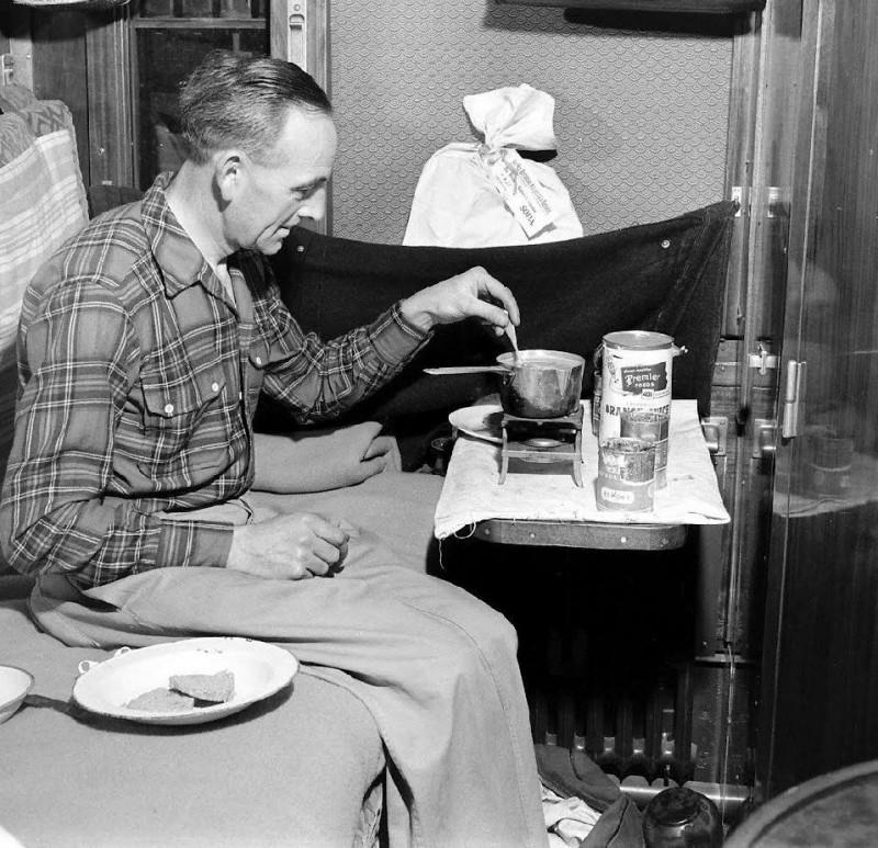 Simplon Orient Express - 1950 - Jack Birns - LIFE