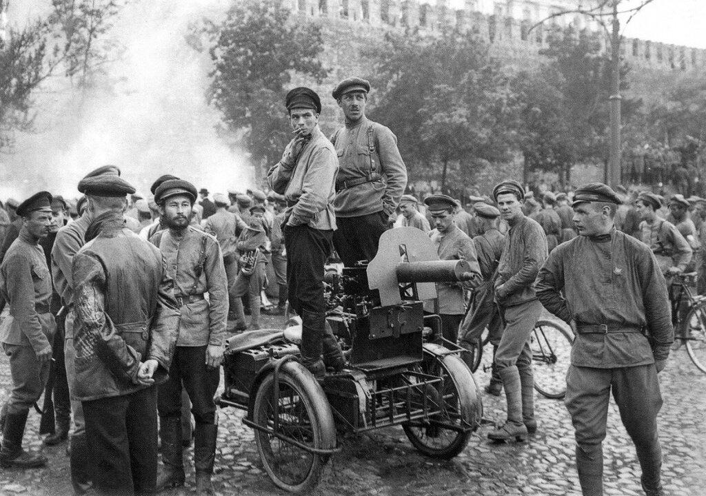 празднование дня всевобуча 11 июля 1918 года