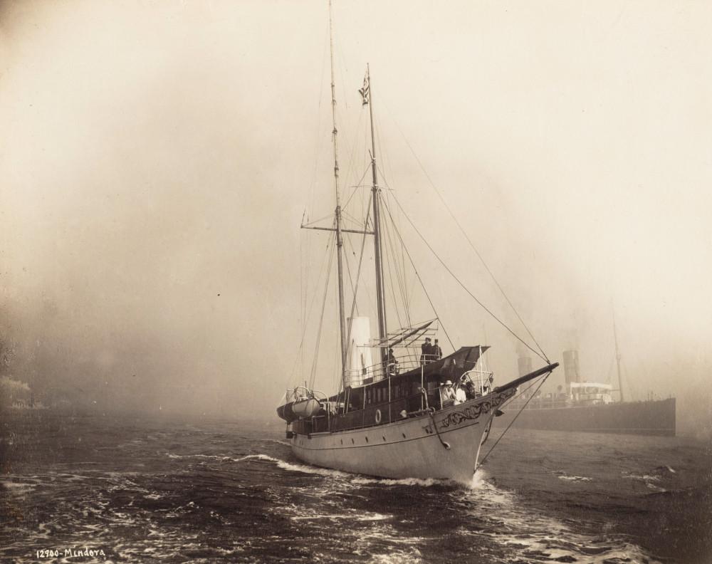 Mindora [1901-09-26] [yachts, schooners] [#280075]