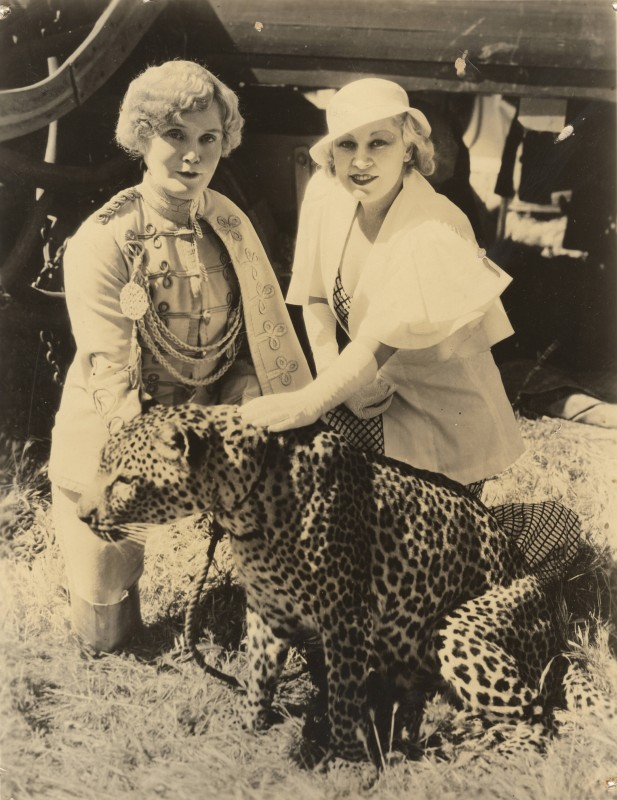 Mabel Stark and Mae West