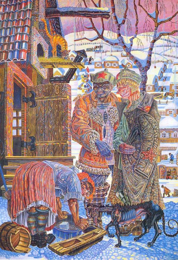 Хржановский Юрий Борисович (1905-1987) «Сибирские партизаны» 1927