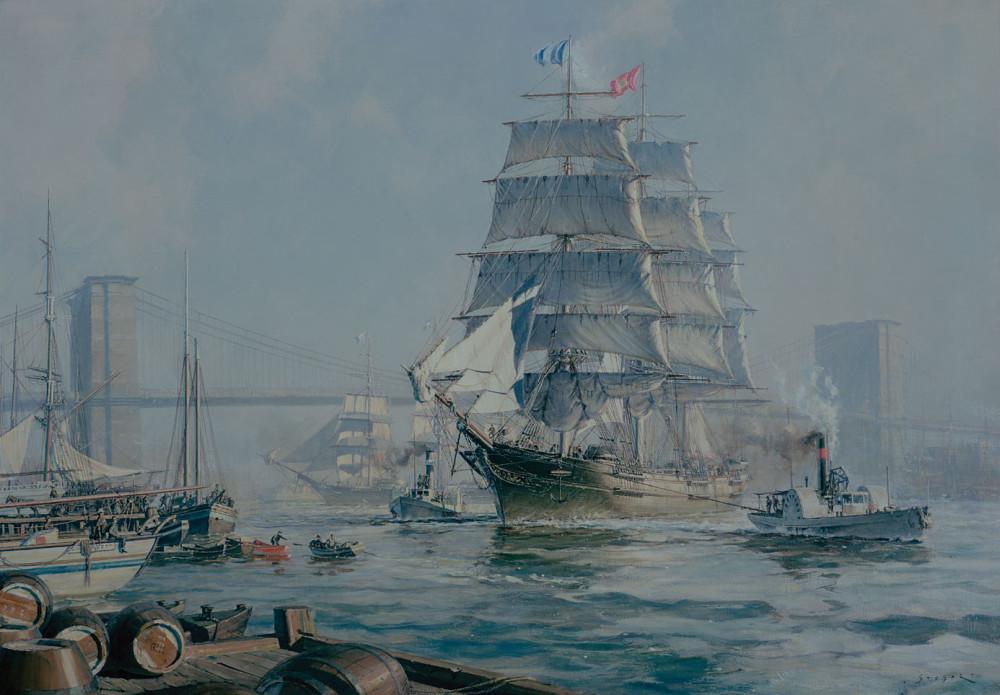 David Crockett - Sailing From The East River