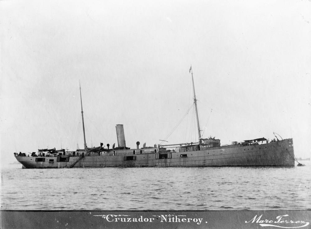 Cruzador Nitheroy [sic] 1892-1910=