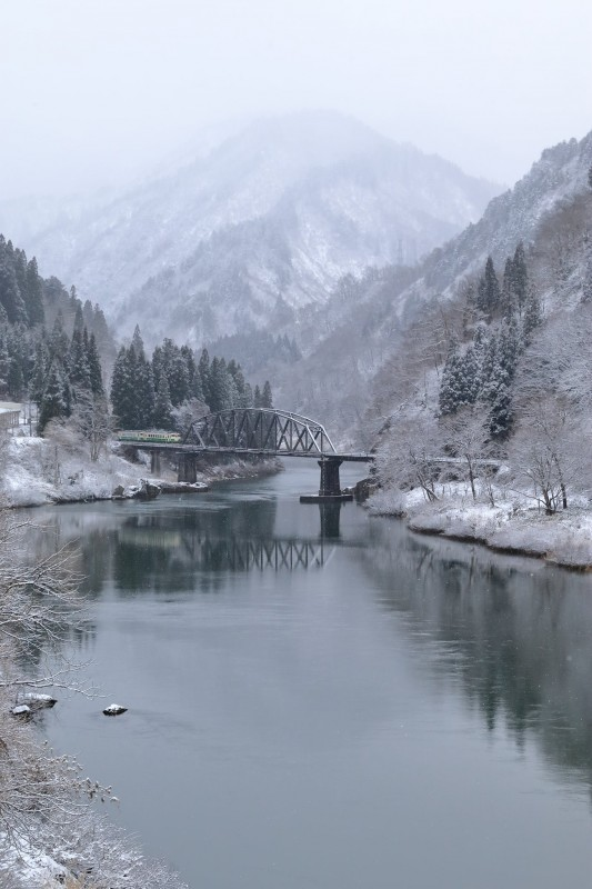 Tadami line snowing 81165887_1266729943524329_6563054003628802048_o