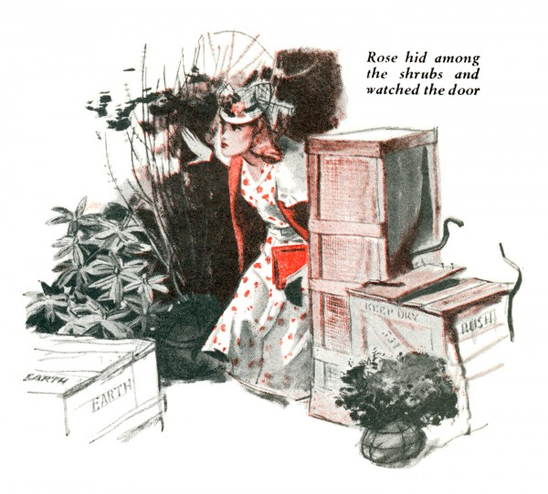 1941 Aug. The American Magazine, printing of Death Wears an Orchid, story by Rex Stout and was subsequently collected in the book Black Orchids (1942) as Black Orchids, illustration by Fred Ludekens 3
