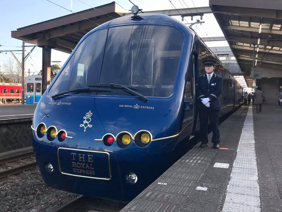 Tokyu Railway's Royal express , ready to head to Hokkaido for train cruise trips this summer , price starts from 680000 yen