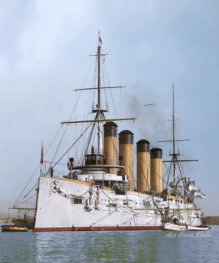 Крейсеръ I ранга Баянъ, Тулонъ, 1903