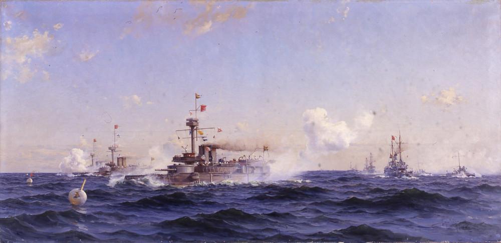 Herman af Sillén (1857 - 1908) Pansarbåtar [Svea-class]
