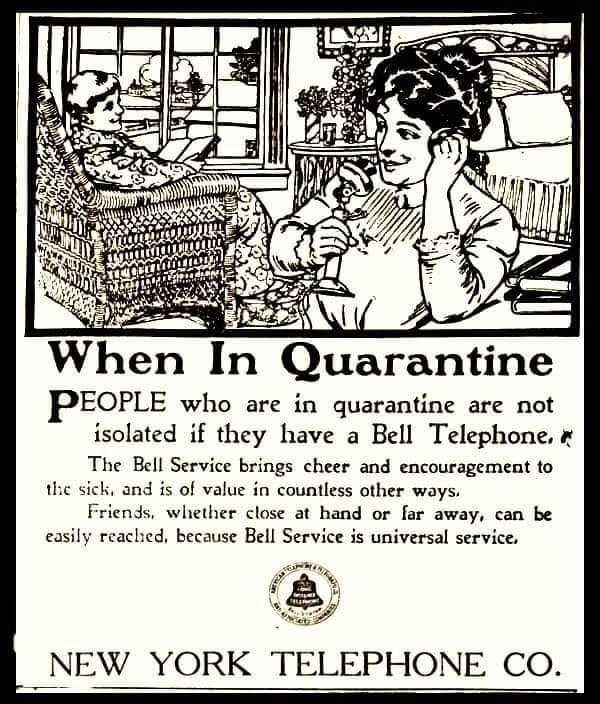 An AT&T ad from a 100 years ago