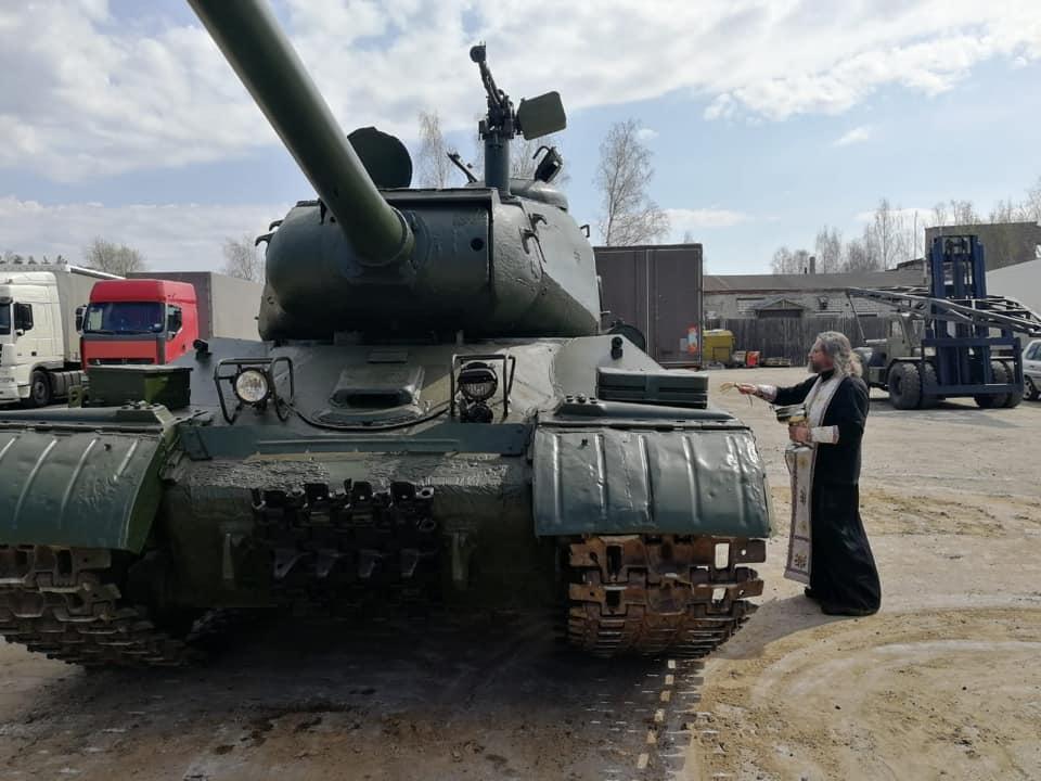 ИС-2М в Государственном Военно-Техническом Музее, село Ивановское (Черноголовка)