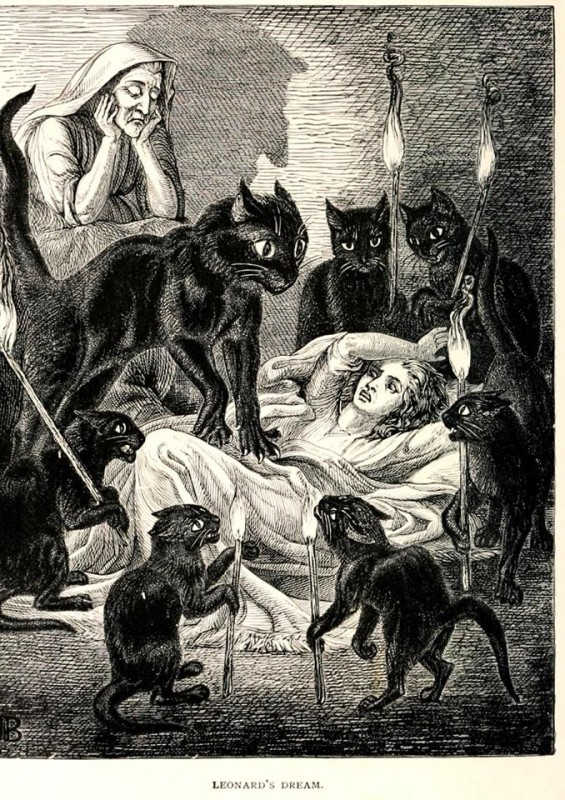 Jane Blackburn (1823-1909) 'Leonard's Dream' 'The Lances of Lynwood', Charlotte M. Yonge (1855)