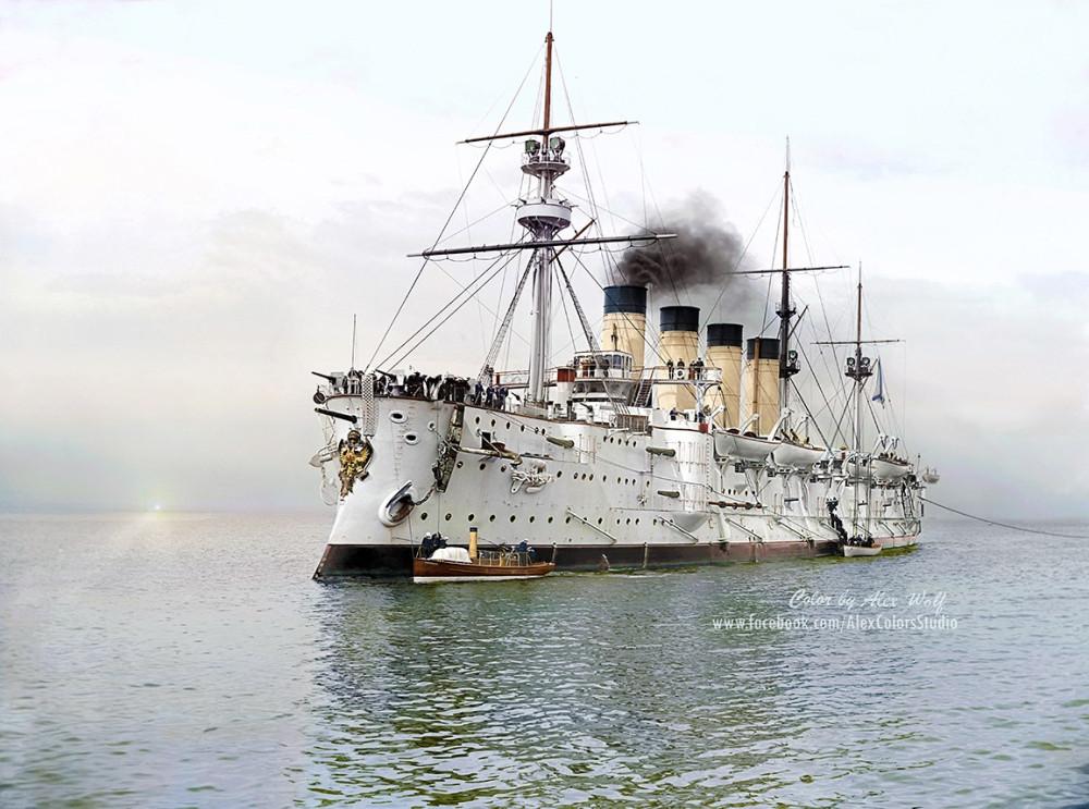 Крейсеръ I ранга Громобой, 1901 годъ
