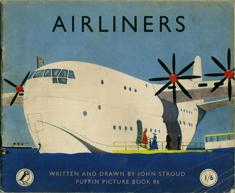 Airliners. Written and illustrated by John Stroud, 1949. Saunders-Roe SR45 Princess Flying Boat