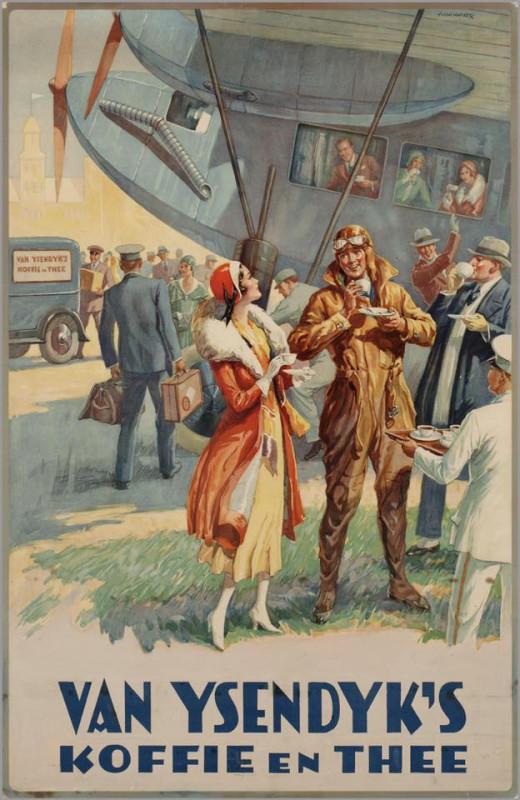 1920s, Van Ysendijks Coffee and Tea