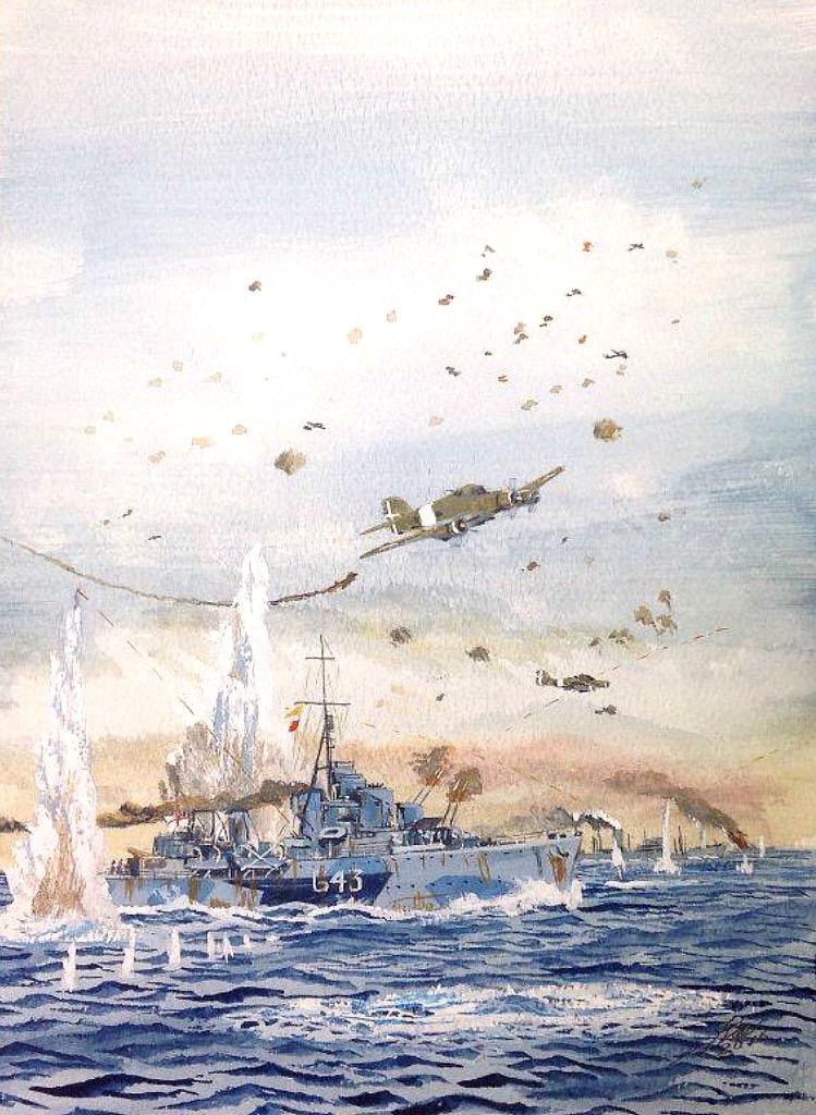 The Savoia-Marchetti SM.79 HMS Tartar in the Med