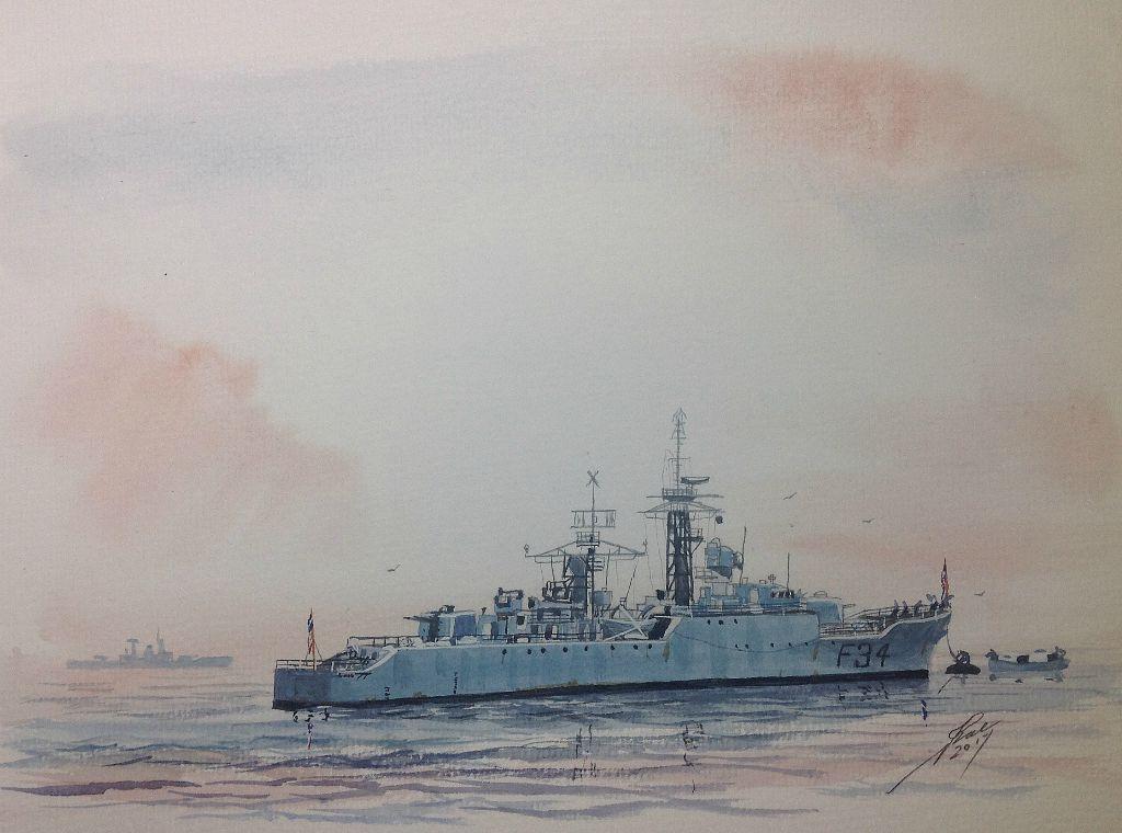 Small sketch+of HMS PUMA. from my era