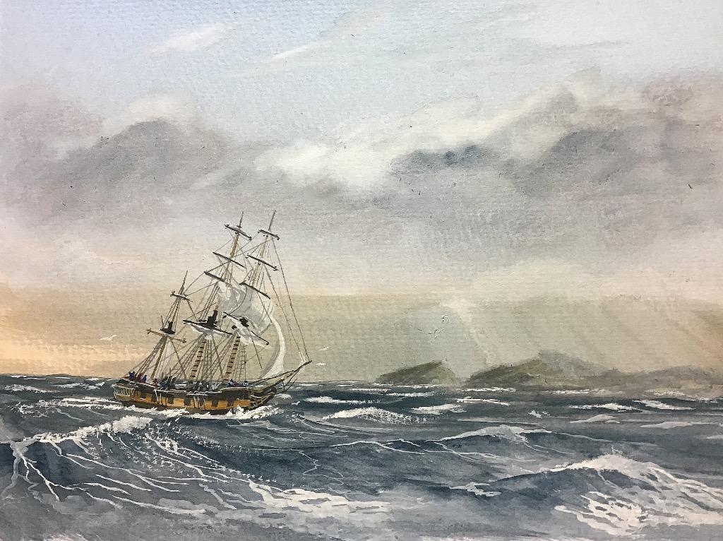 Main Top sail blown out
