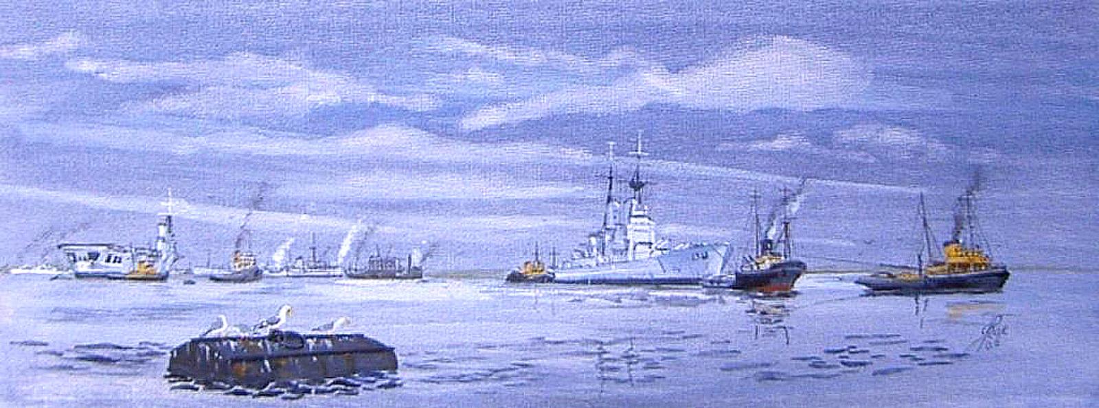 Vanguard's final voyage