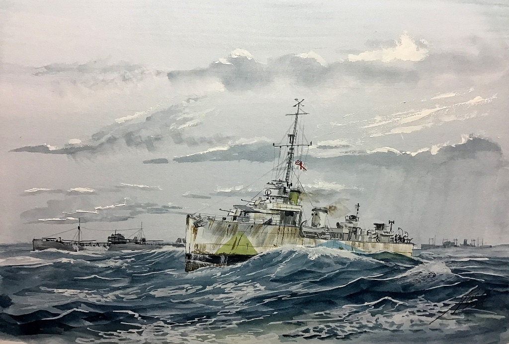 Just to keep the 'pot boiling' 'HMS Wild Swan' V-W class Destroyer