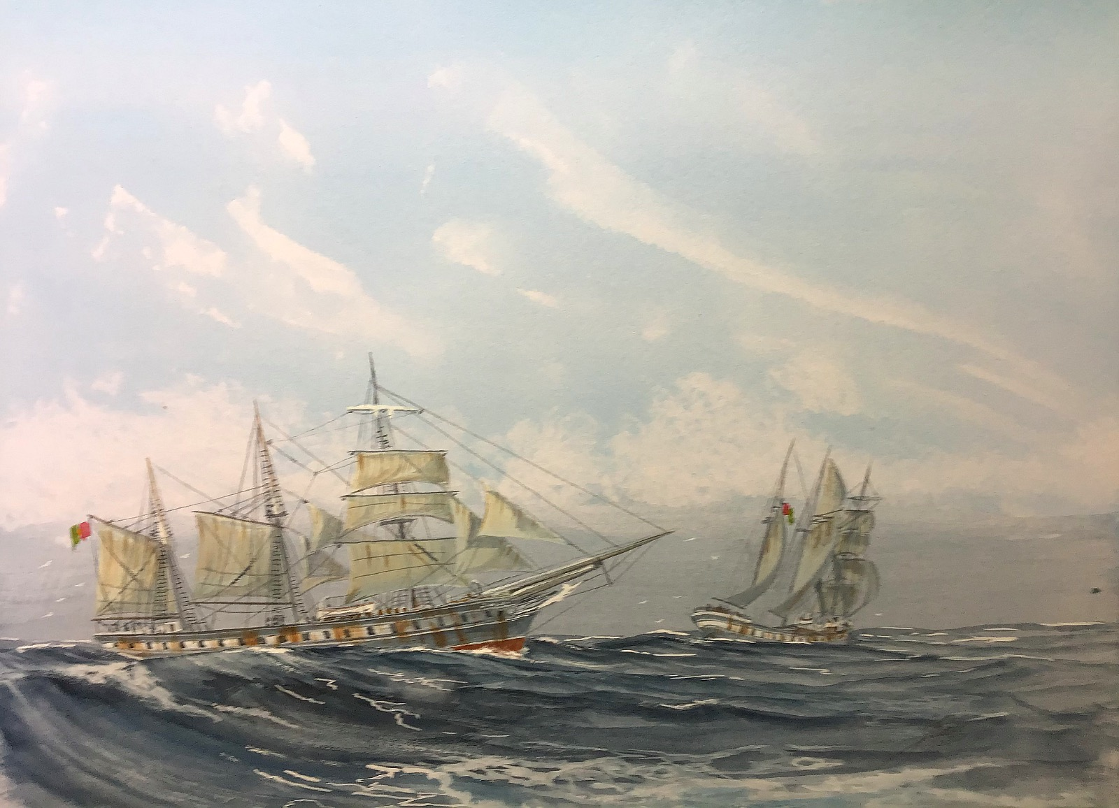 Ferreira. Cutty Sark as a Barquentine in Portuguese service 'from Thoroughbred to Carthorse'