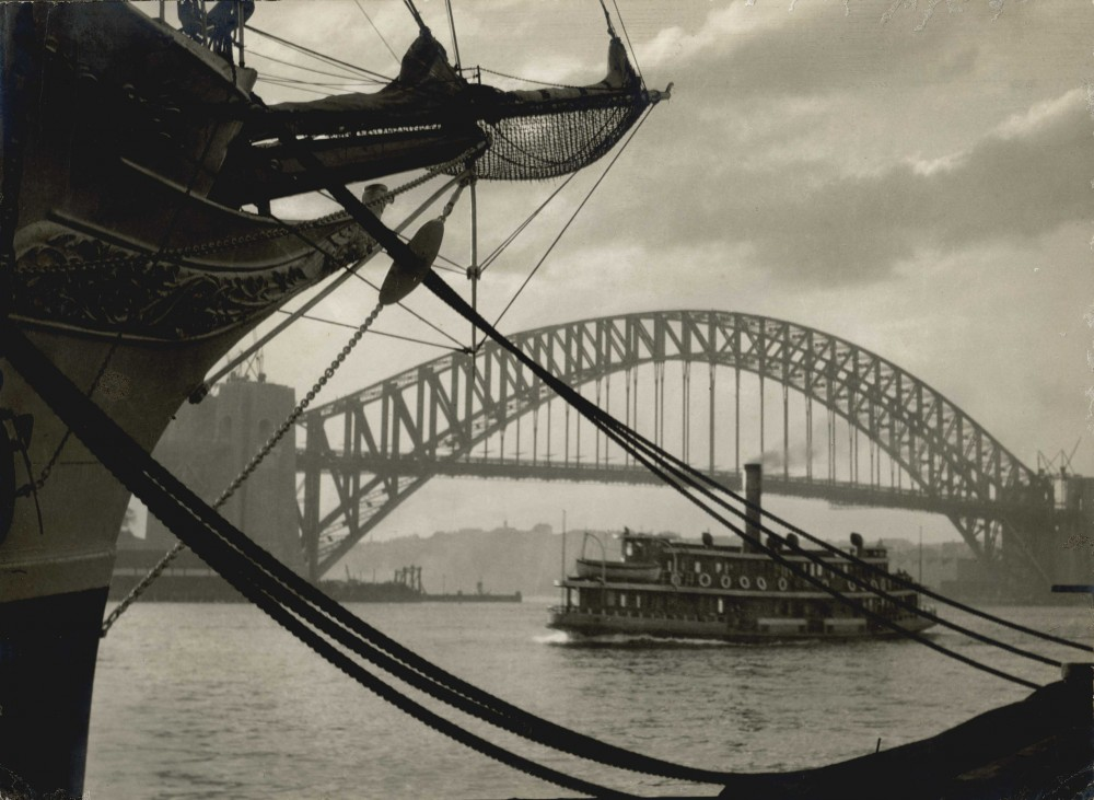 Sydney Harbour - A Study in Curves, 1931. Australia