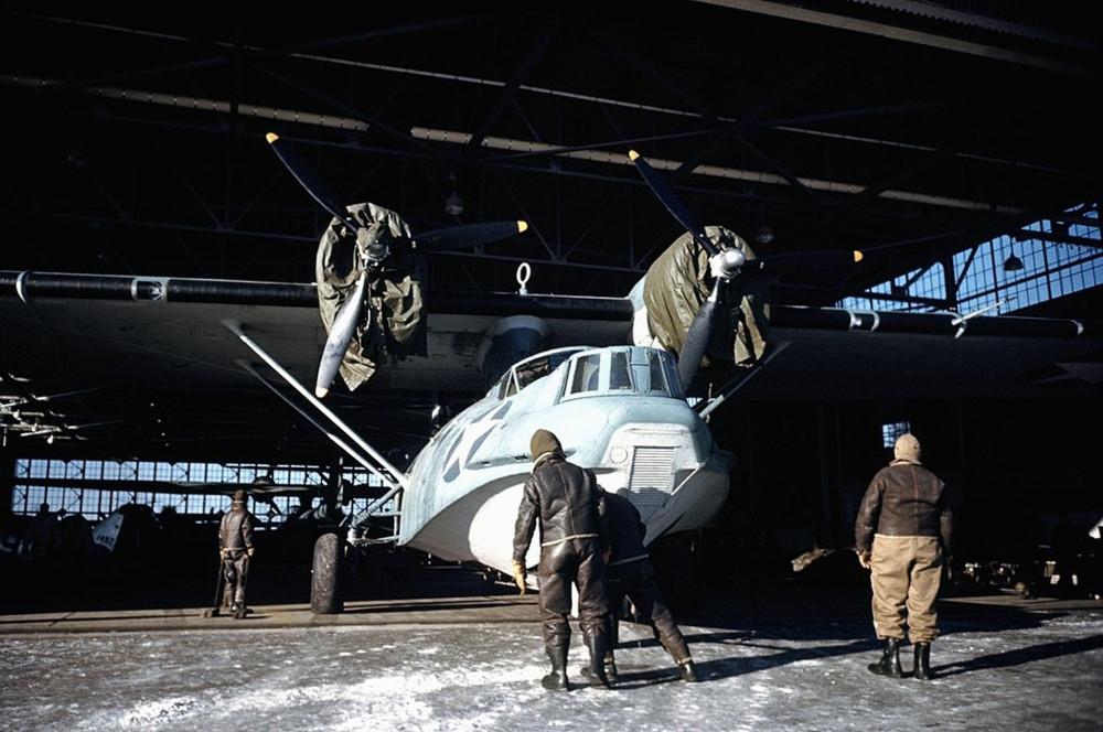The U.S. Air Base in Goose Bay, Labrador, Newfoundland. December 1942
