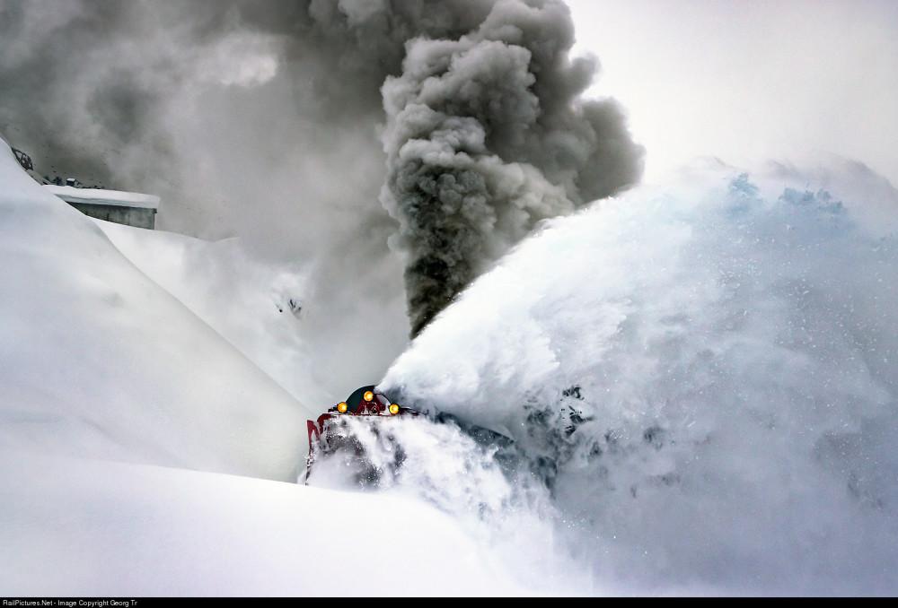 Dampfbahn Furka Bergstrecke, Xrotd R#12, HG 3/4, 4, Realp, Switzerland, December 11, 2020