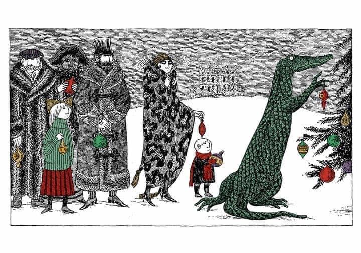Christmas Cards Edward Gorey; 1925-2000