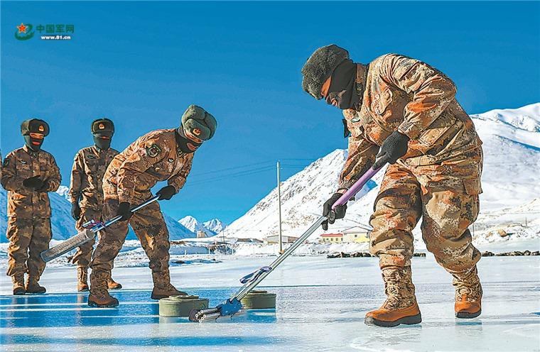 Памирский керлинг Синьцзянский военный округ