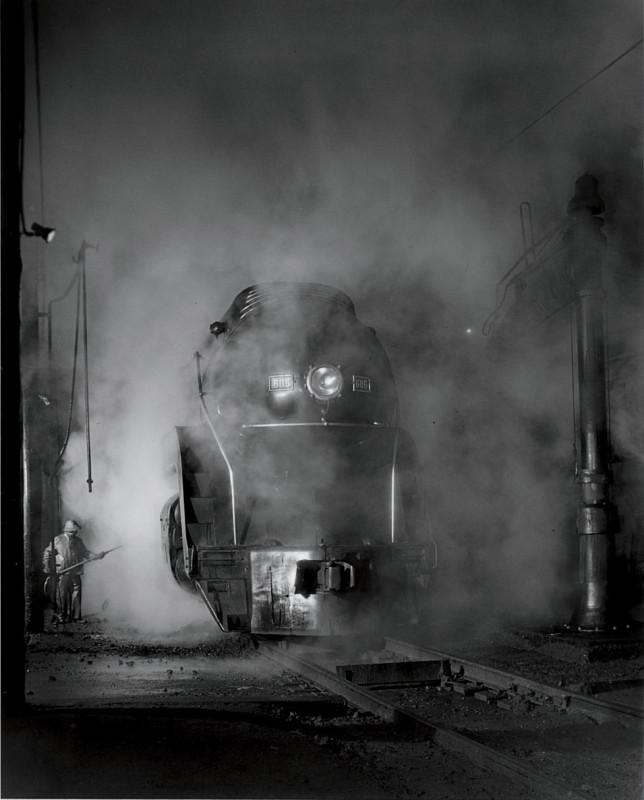 Washing J Class 605, West Virginia, 1955