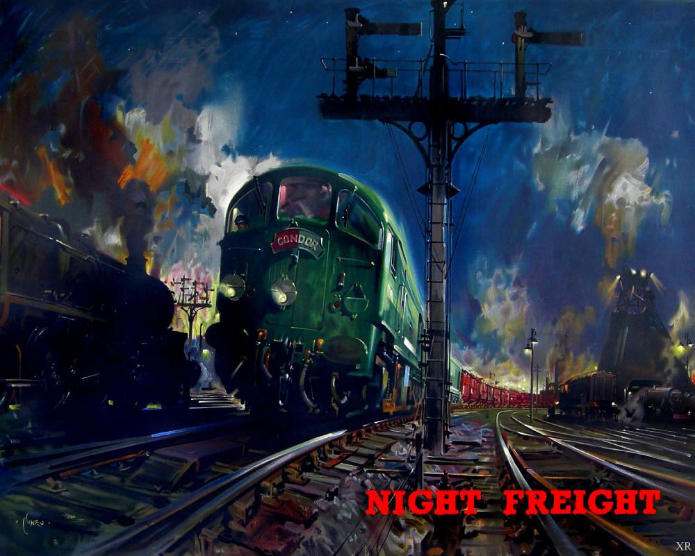 Tenison Cuneo (1907–1996) Night Freght (1960)